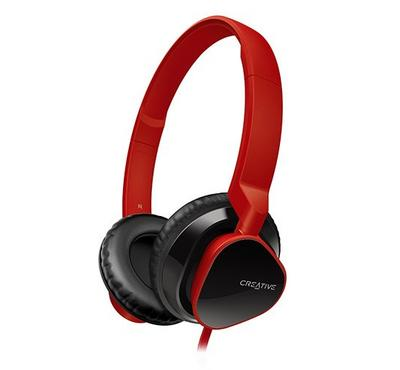 CREATIVE Headset MA2300 with Black Cushion, Red