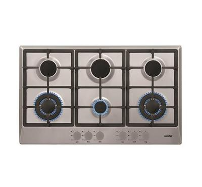 Simfer Built-in Hobs 6 Burners Stainless Steel