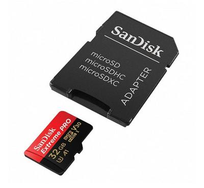 SANDISK Micro SD 32GB Extreme Pro 100MB/S