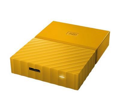 ويسترن ديجيتال قرص صلب محمول سعة  4 تيرابايت, لون أصفر