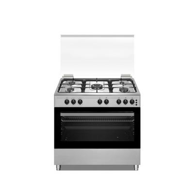 Candy Cooker, 90x60cm, 5 Gas Burner, Freestanding, Inox