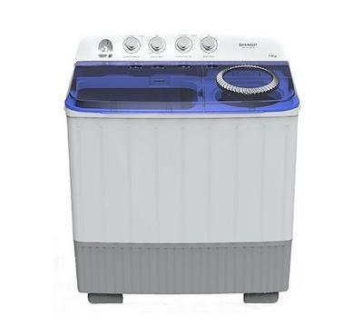 Sharp 14.0KG Washing Machine Twin Tub Plastic Body White
