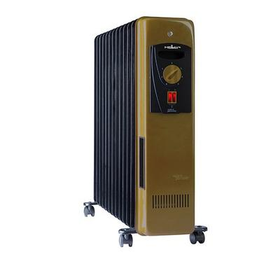 Heller Oil-filled Radiator 15 Elements, Brown