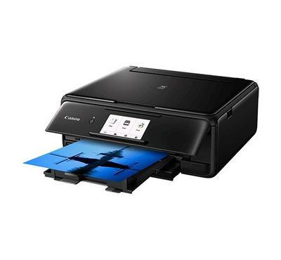 Canon Pixma TS8140, Wireless, Print, Copy, Scan, Cloud Link, Black