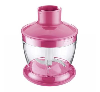 Sencor 0.5L Hand Blender With Chopper 800W Pink