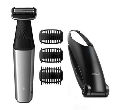 Philips Bodygroom with foil shaver and back attachment