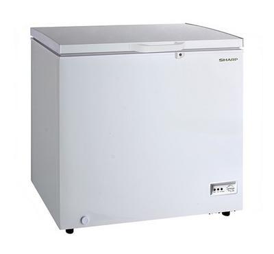 Sharp Chest Freezer, 250.0L, White