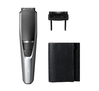 Philips Beard Trimmer 3000 with Hair Lift and Trim Comb,Silver