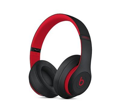 Beats Studio3 Wireless Over-Ear Headphones, Red
