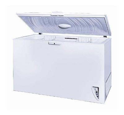 Frizcool Chest Freezer 450 LTR, Handle with lock, White