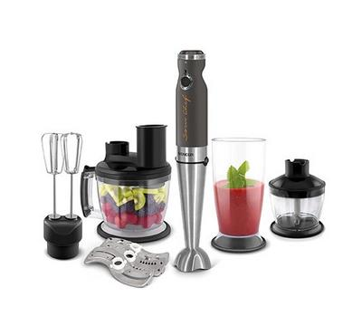 Sencor Hand Blender With Food Processor, 1.25L, 1000W, Black