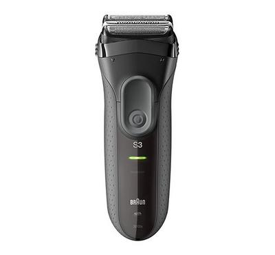 Braun SERIES 3 S3 3-in-1 Rechargeable Mens Foil Shaver Grey
