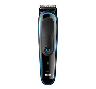 Braun 9-in-1 Rechargeable Multi-Grooming Hair Clipper Kit