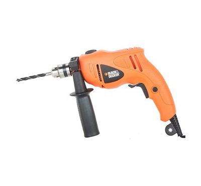 BLACK & DECKER 500W 10mm VSR H/Drill 5Accs