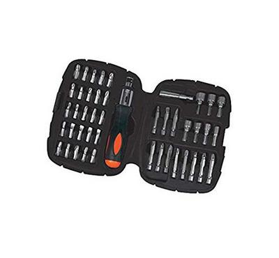 BLACK & DECKER 45 Pc. Ratchet Screwdriver Bit Set