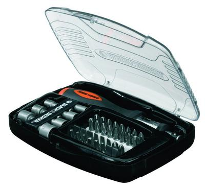 BLACK & DECKER 40 Piece Ratchet Screwdriving Set