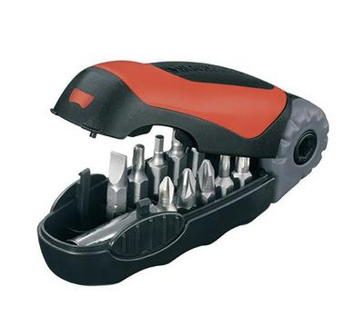BLACK & DECKER  11PC Flip Handle Screwdriver Set