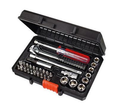 BLACK & DECKER 31pc 1/4 Drive Socket and Driver Bit Automobile Set