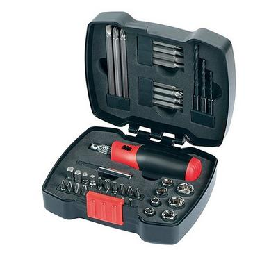 BLACK & DECKER 43 Pcs Ratchet Screwdriver Set