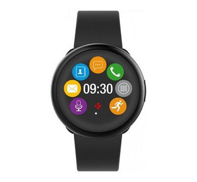 Mykronoz Smartwatch with Circular Colour Touchscreen Black