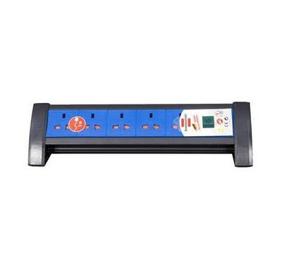 Brennenstuhl Premium 5 Way 3 Mtr Extension Cable Blue