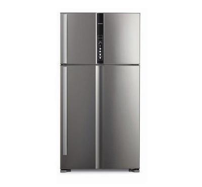 Hitachi Top Mount Refrigerator,655LCross Capacity,600L Net Capacity, Silver.