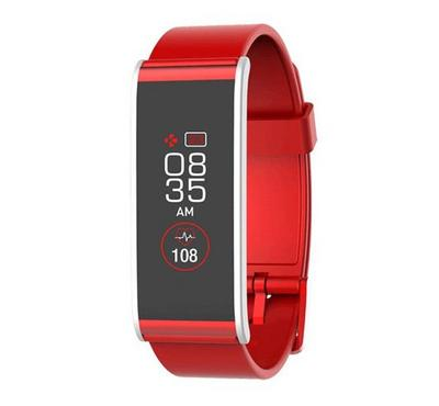 Mykronoz Activity and Heart rate Tracker with Colour Touchscreen Red