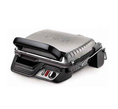 Tefal 2000W Ultra Compact Health Grill Comfort, 3 Temerature Settings, Stainless Steel