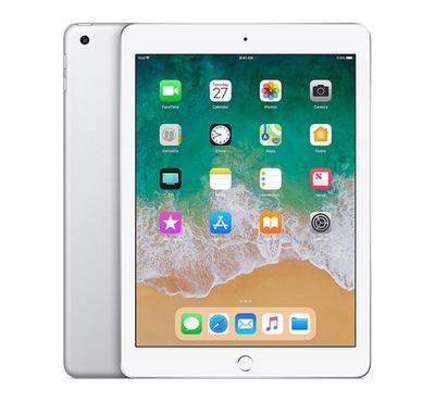 Apple iPad 6th Generation, 9.7 Inch, WI-FI, Cellular, 32GB, Silver