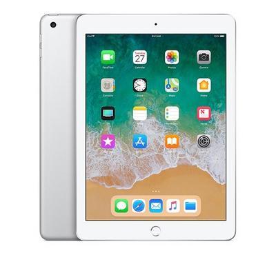Apple iPad 6th Generation, 9.7 Inch, WiFi, Cellular, 128GB, Silver