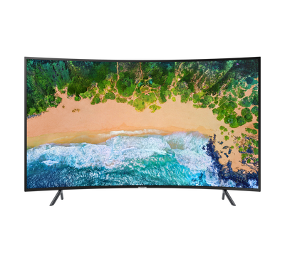 Samsung SERIES 7 NU7300 55-Inch Smart Curved LED TV UHD-4K 100Hz Black WiFi