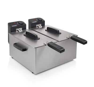 Princess Classic Double Fryer 2 x 3L, Stainless Steel