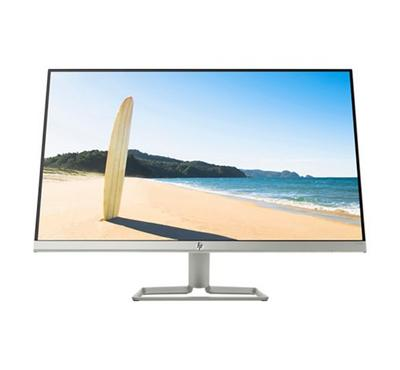 HP 27fw FHD Monitor 27 inch, IPS with LED backlight, White/Silver