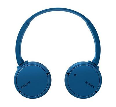 Sony Wireless Bluetooth NFC On-Ear Headphones with 20 h Battery Life, Blue