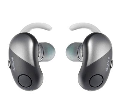 Sony Truly Wireless Sports Headphones with Noise Cancelling, Black