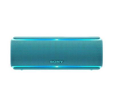 Sony Portable Wireless Waterproof Speaker with Extra Bass, Blue