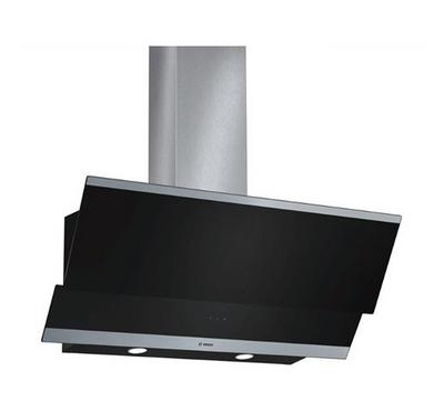 Bosch Serie 4 wall-mounted Chimney Hood, LED, touch control, Stainless steel