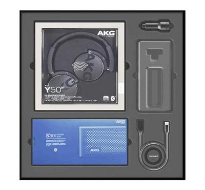 AKG Value Pack,AKG Headphone, Speaker, Car Charger, Case, Cable.