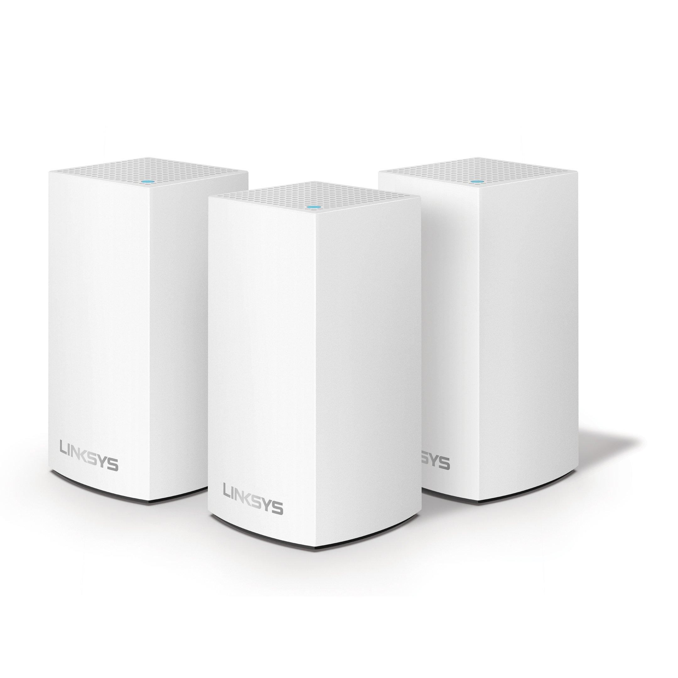 LINKSYS VELOP, 3 Devices, Dual Band AC3900, White