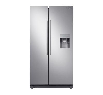 Samsung Fridge w/ Water Dispenser, 558L, SBS, Inverter, Silver