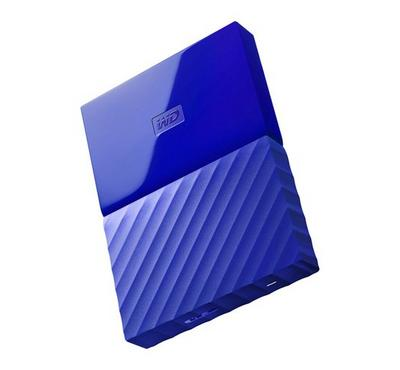 WESTERN DIGITAL My Passport 2TB Portable HDD, Blue