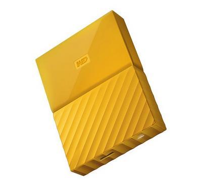 ويسترن ديجتال ماي باسبورت 2 تيرا بايت، أصفر