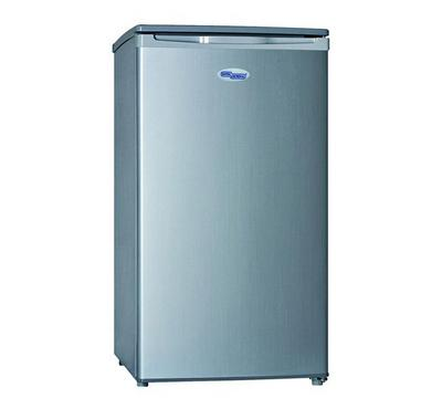 Super General Fridge, 120.0L, Single Door, Silver