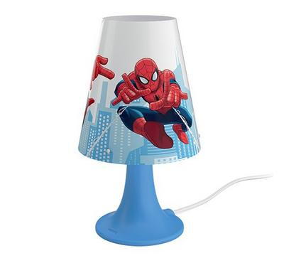 PHILIPS Table Lamp with built in LED 2.3W 220 lm ND WW - SpiderMan