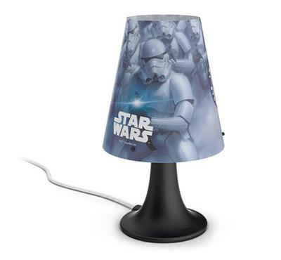PHILIPS Table Lamp with built in LED 2.3W 220 lm ND WW - Star Wars
