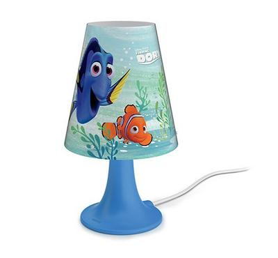 PHILIPS Table Lamp with built in LED 2.3W 220 lm ND WW - Finding Dory
