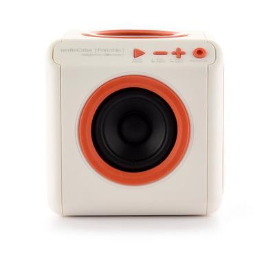 ALLOCACOC AudioCube Portable UK, Bluetooth, White