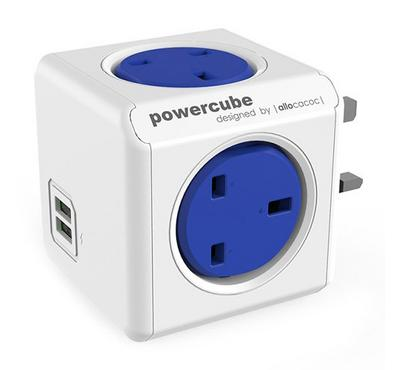ALLOCACOC PowerCube, Outlets 4, 2 USB
