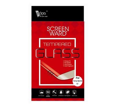 Adpo 2.5D Tempered Glass Screen Protector For Sony Xperia L2, Clear