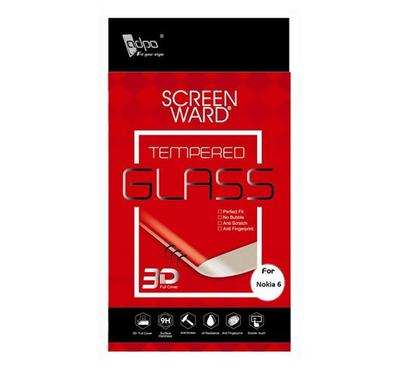 Adpo 3D Tempered Glass Screen Protector For Nokia 6